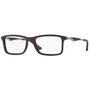BRAND NEW Ray-Ban Brown RX7023 5258 Eyeglasses